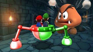 Mario Party 9 Step it Up - Mario Vs Luigi Vs Wario Vs Waluigi (Master Cpu)