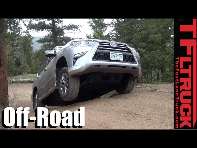 Lifted Lexus GX460 Takes On the CliffHanger 2 0 Off-Road