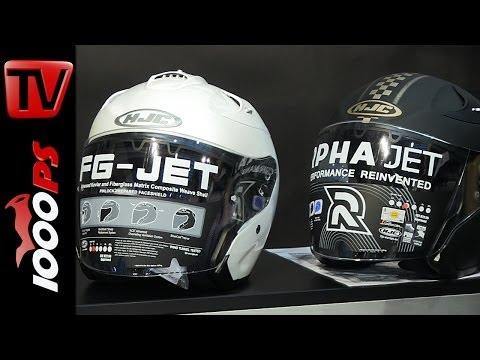 HJC JET Helme - FG-Jet & RPHA JET 2014