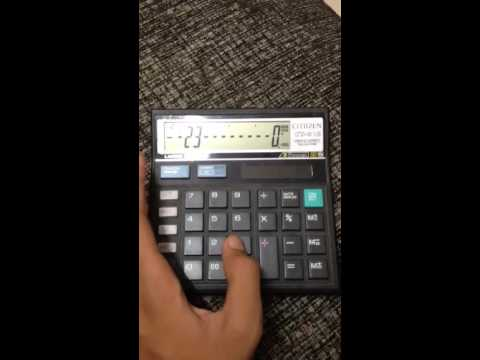 Radio carbon dating calculator