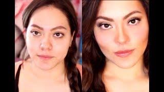 Cómo Adelgazar el Rostro con Maquillaje / How to make your face look thinner