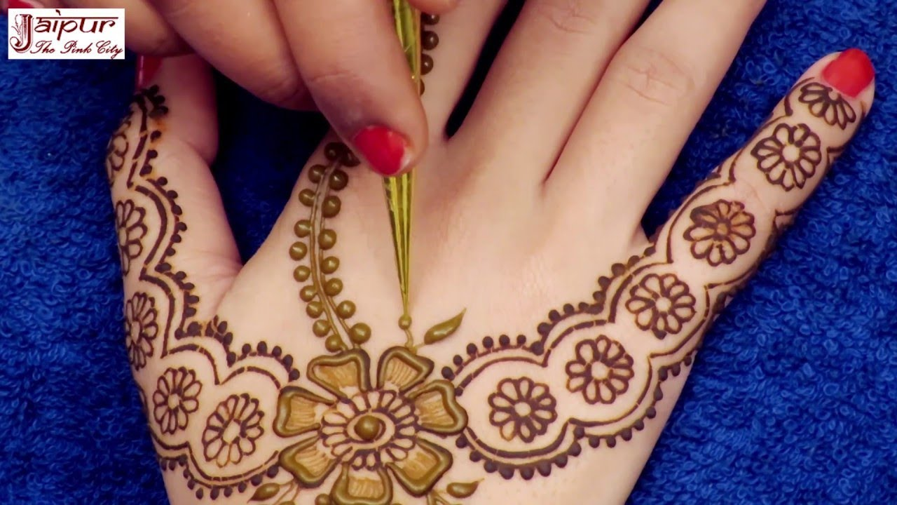 Image result for Awesome Mehndi Design for Hands | New Arabic Henna Mehndi Design for Hands #177 @ jaipurthepinkcity