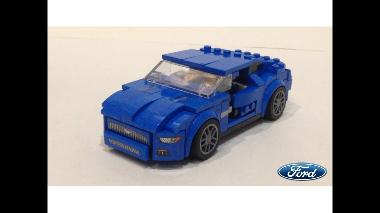 Lego Custom Ford Mustang Gt Youtube