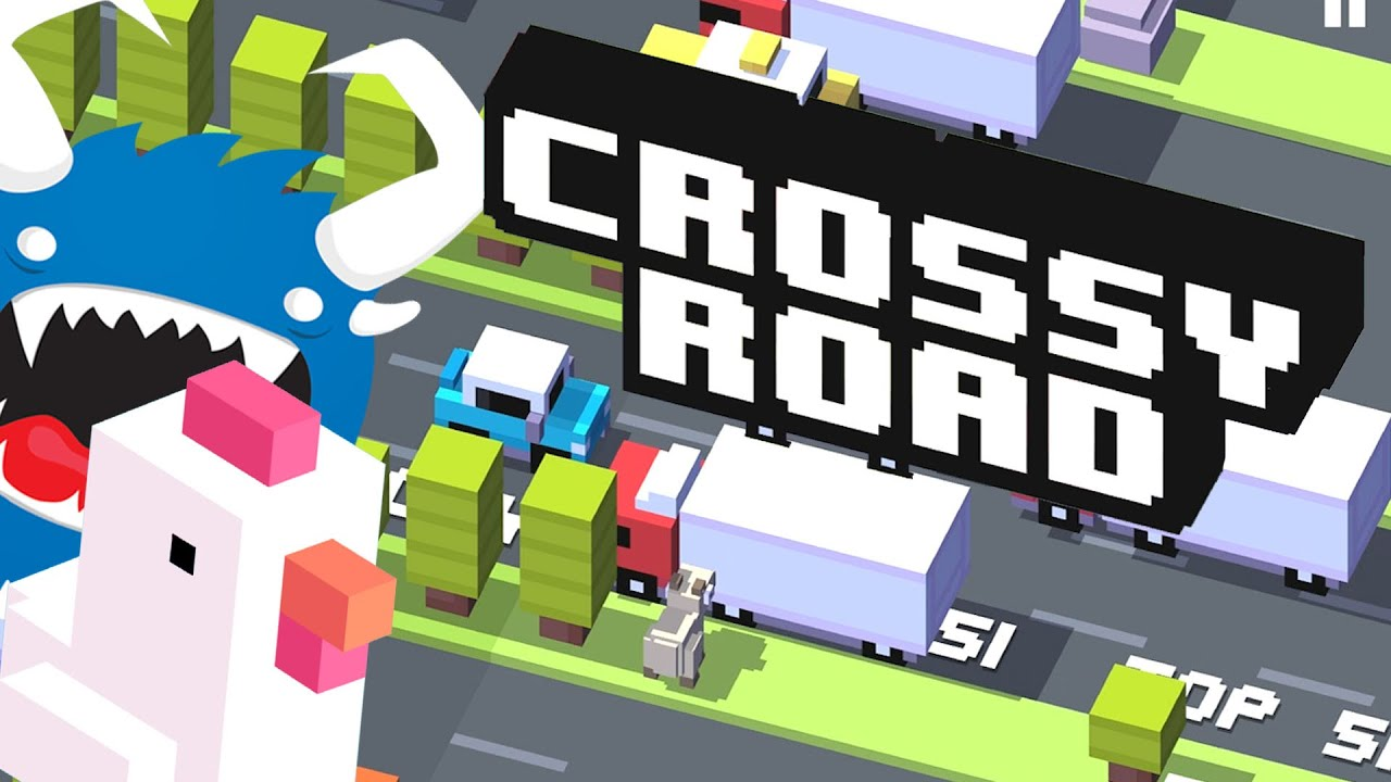 Crossy Road Mobile Game Review Endless Frogger On Ios