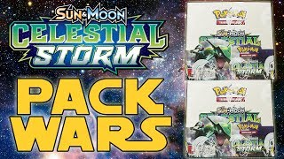 PACK WARS!!! Pokemon Celestial Storm Double Booster Box Opening!