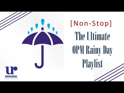 The Ultimate OPM Rainy Day Playlist (Official Lyric Video)