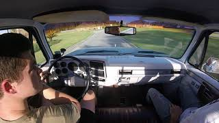 Ls swapped c10 test drive