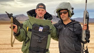 Testing a $35,000 Bomb Suit!!!