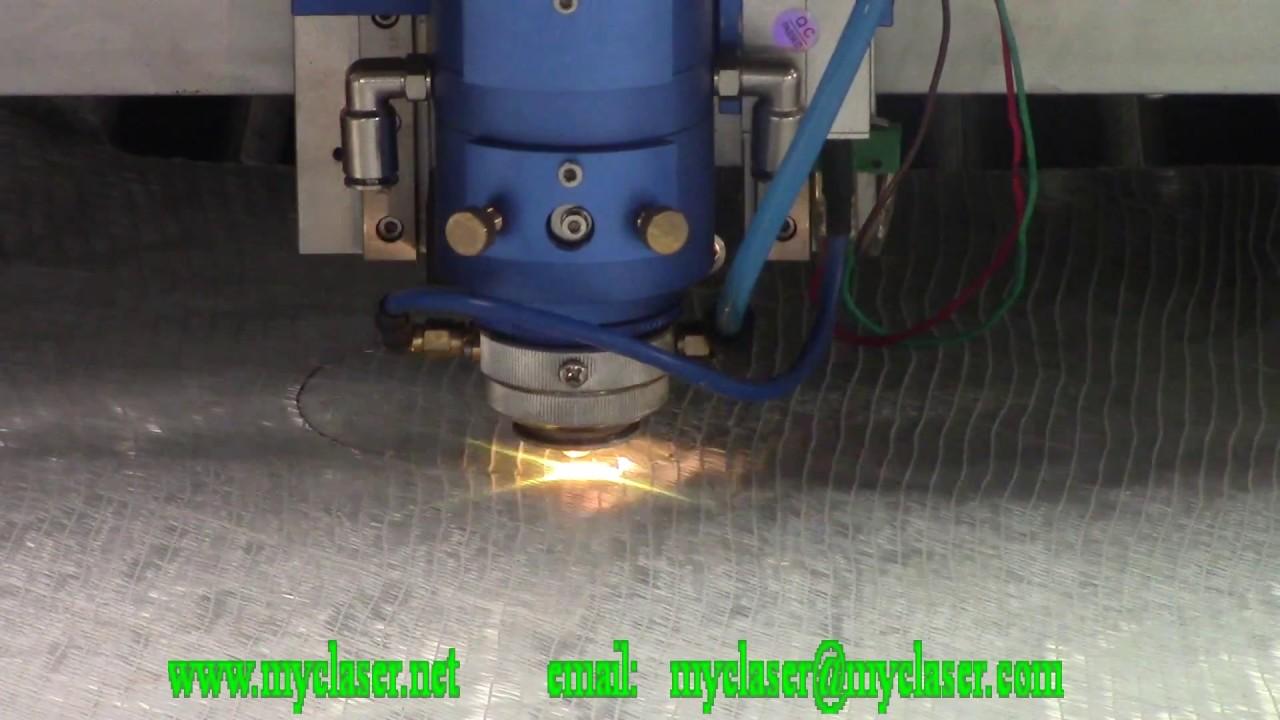 MC1325 260W mix laser cutting machine cut fiberglass