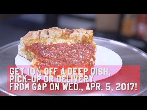 A 4-pound Deep Dish Is Made By Great American Pizza Co. In Brunswick