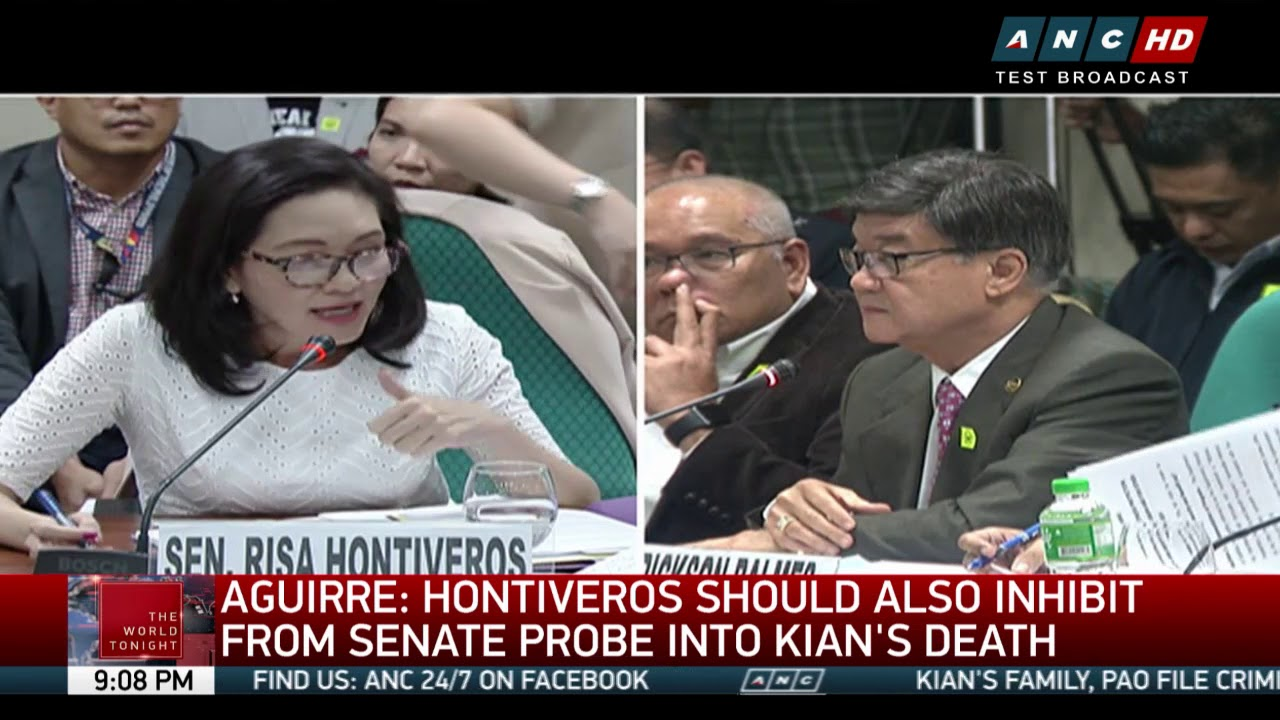 Hontiveros to Aguirre: Hands off Kian's case