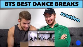 BTS BEST DANCE BREAKS | REACTION