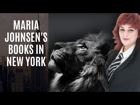 Maria Johnsen's Publications in New York Bookstores