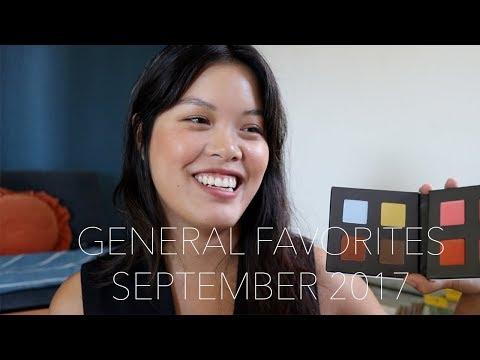 General Favorites | September 2017