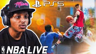 NBA LIVE JUST RELEASED ON THE PS5... AND THE GAME IS STILL AWFUL