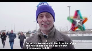 A day in the life of Minneapolis Mayor Jacob Frey during Super Bowl week