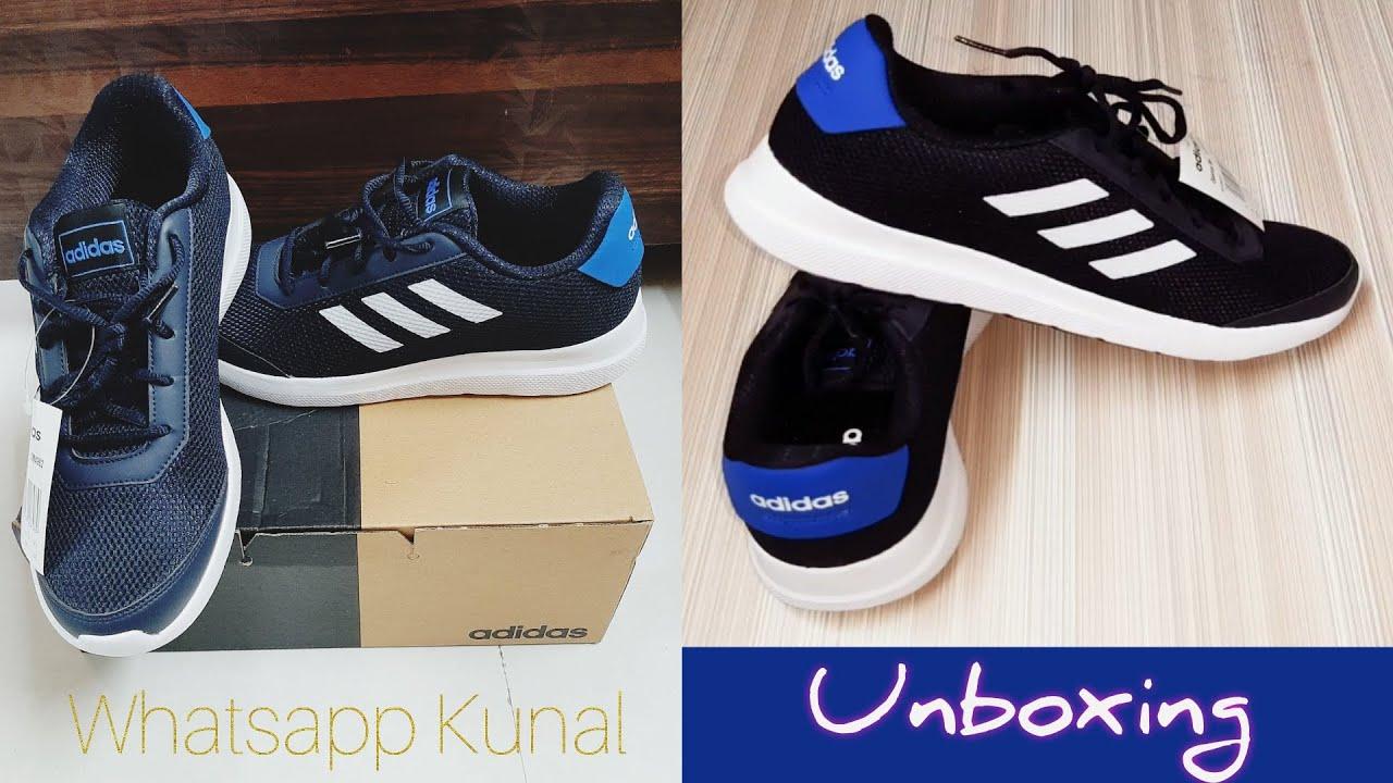 ADIDAS Shoes Unboxing   Adidas Mens Glarus M Running Shoes   Legend Ink & Glory Blue   ADIDAS   😍#WK