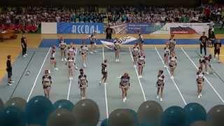Победители общероссийских соревнований по черлидингу-20/04/2013г.