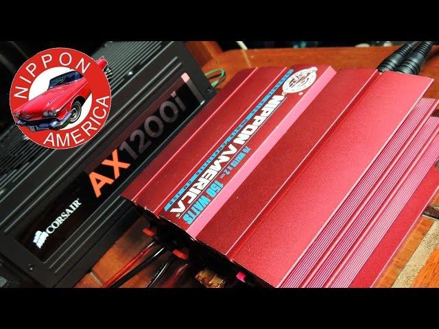 Nippon America 75Watts x 2 (Mini Amp.)