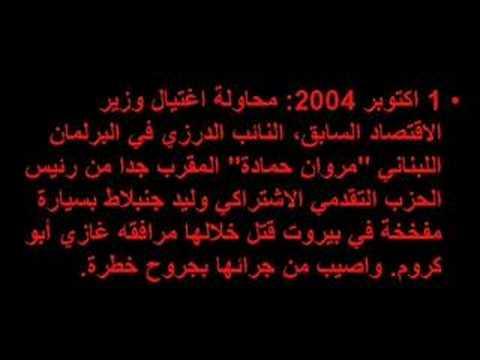 history of assassinations in lebanon