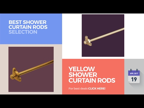 Yellow Shower Curtain Rods Best Shower Curtain Rods Selection
