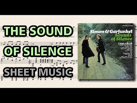 The Sound of Silence - Simon & Garfunkel | Piano Sheet Music