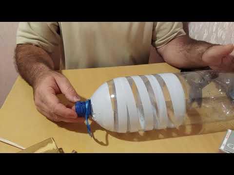 Плафон для люстры из пластиковых бутылок своими руками