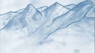 Animated Switzerland Mountains Sketch