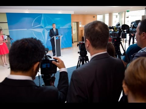 NATO Secretary General doorstep statement, Foreign Ministers Meeting, 19 MAY 2016