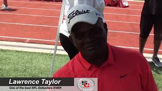 "Atlanta youth football camp | lawerence ""lt"" taylor 