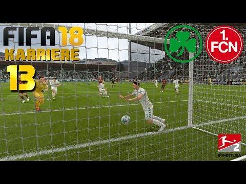 FIFA 18 KARRIERE [#13] ★ SpVgg Greuther Fürth vs. 1. FC Nürnberg, 8.  Spieltag | Let's Play FIFA 18