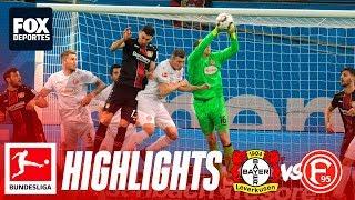 Bayer Leverkusen 2-0 Fortuna Düsseldorf | HIGHLIGHTS | Jornada 22 | Bundesliga