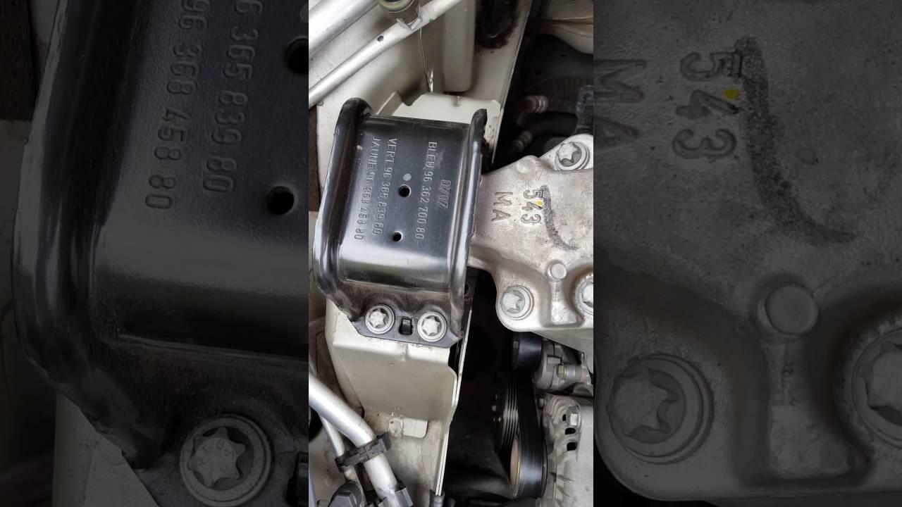 Citroen C4 Powerflex Road Series Lower Rear Engine Mount Bush PFF50-306 04-14