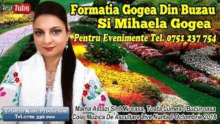 Formatia Gogea Din Buzau Si Mihaela Gogea - Mama Astazi Sint Mireasa (Colaj Live Nunta 6 Octombrie)