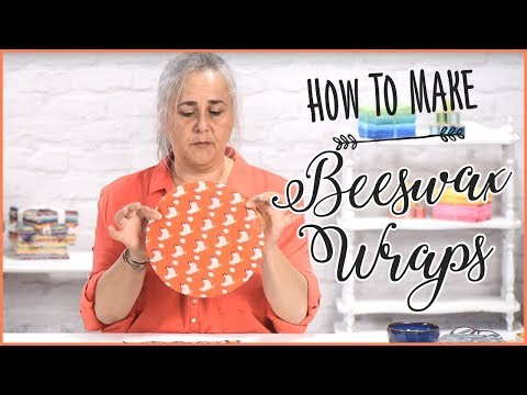 Beeswax Wraps: How To Make Reusable Beeswax Wraps