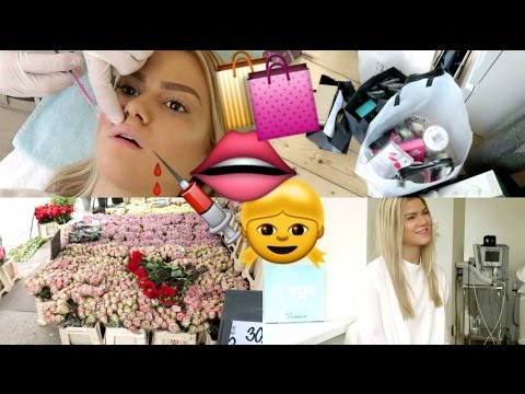 VLOG | GETTING LIP FILLERS AGAIN & BEAUTY HAUL