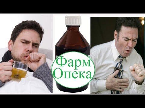 Отхаркивающие средства при кашле