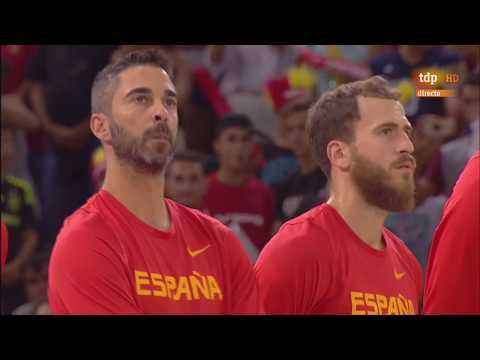Spain vs Venezuela Friendly Basketball Full Game 15.08.2017