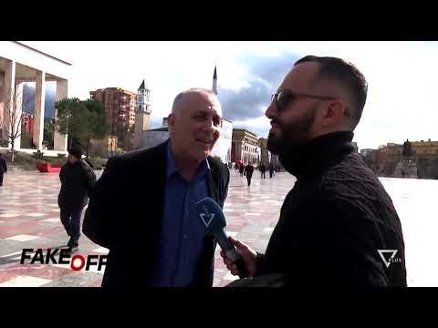 FAKE OFF - Vox Pop / Tirana 100 Vjet - Satire - Vizion Plus