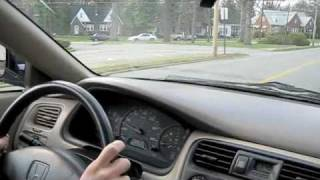 Test Drive The 2000 Honda Accord Coupe