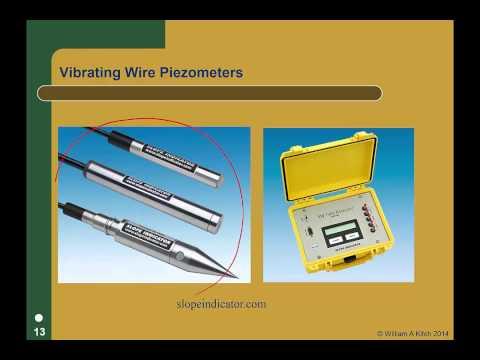 Repeat Tools Valarm net + Geokon Piezometers Vibrating Wires