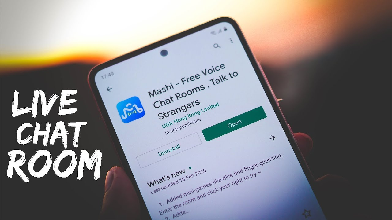 Mashi Free Voice Chat Rooms, Talk to Strangers   Free Live