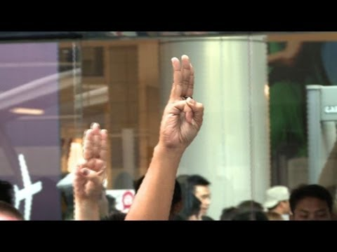 Hunger Games Salute Becomes Symbol Of Thai Resistance Youtube