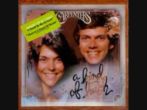 The Carpenters - I Need To Be In Love:歌詞+中文翻譯