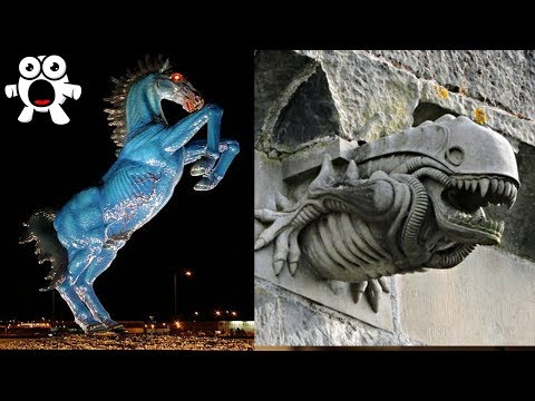 The Secrets Of The Strangest Statues In The World