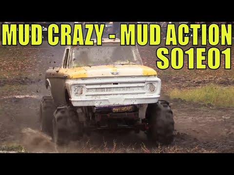 MUD CRAZY MUD ACTION VOL 01 - MIXED MUD AND MEGA TRUCK ACTION