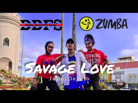 Jason Derulo - Savage Love  ZUMBA  DANCE  TIKTOK  REMIX  VIRAL  FITNESS  At Balikpapan