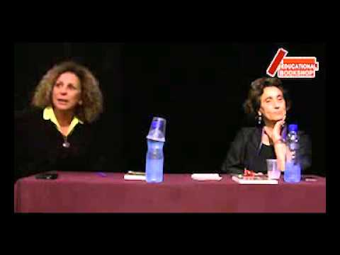 Suad Amiry Speaking about her book Golda Slept at the Palestinian National Theatre