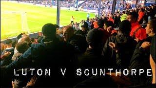 Luton v Scunthorpe *vlog*