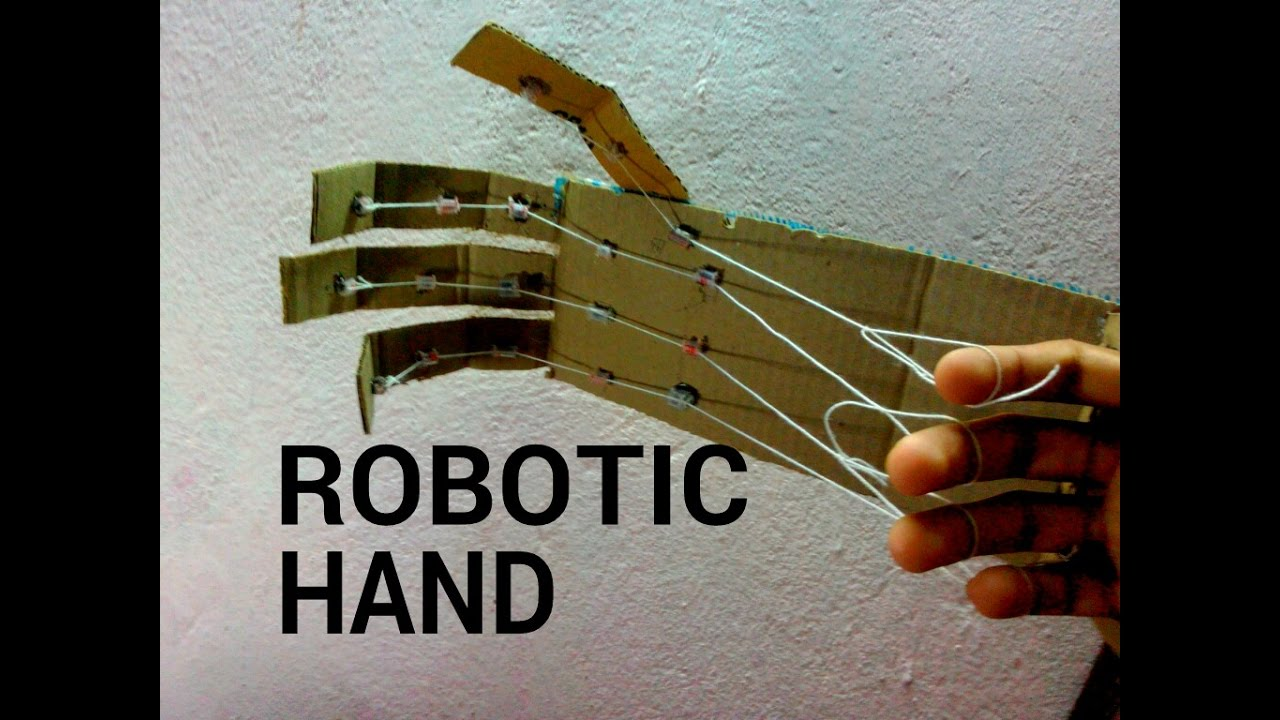 Image result for diy robotic hand craft